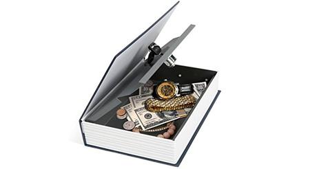 گاوصندوق کتابی مدل HOME SAFE